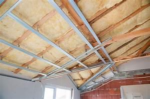 Isoler Plafond Sous Sol : isoler son garage 3 tapes pour des travaux r ussis bienchezmoi ~ Nature-et-papiers.com Idées de Décoration