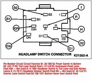 Dodge Ram Headlight Switch Wiring Diagram