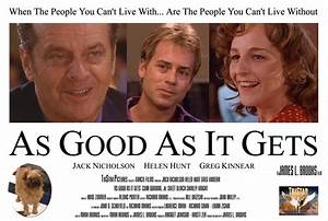 """As Good As It Gets: """"You make me want to be a better man ..."""