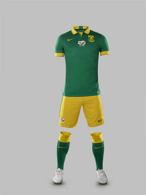 south africa  nike unveil national football team kits