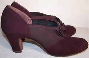 1940s Vintage Shoes Women