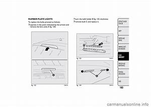 Bulb Fiat Bravo 2014 2 G User Guide  275 Pages