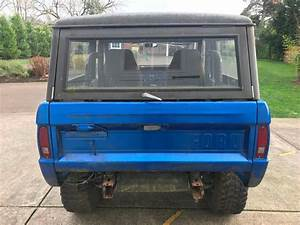 1969 Used Ford Bronco 302 V8  Power Steering And A 3spd