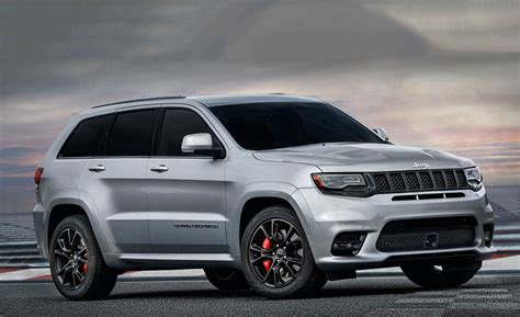 srt jeep 2017 jeep grand cherokee srt official photos and info