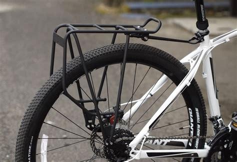 axiom bike rack rear pannier racks for chainstays and heel