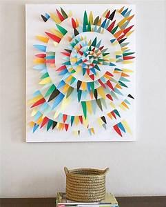 Schöne Bilder Für Die Wand : wandgestaltung selber machen 140 unikale ideen ~ Markanthonyermac.com Haus und Dekorationen