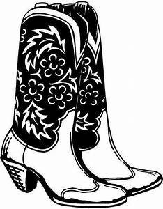 For your consideration is a die-cut vinyl Cowgirl Boots ...