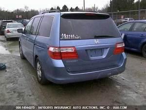 Honda Odyssey Body Parts Used