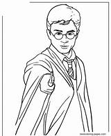 Harry Potter Wand Holding Magic Coloring Adults Printable Colorear Dibujos Clipart sketch template