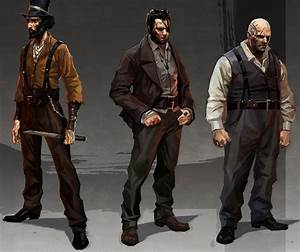 Dishonored Concept Art - Characters | The Art Of Video ...
