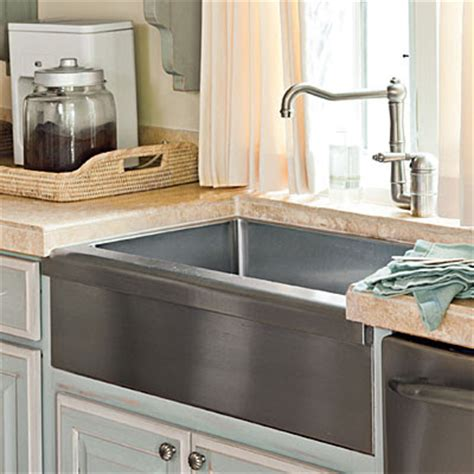 best farmhouse sink for the money in my tennis shoes southern living kitchen