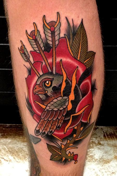 falcon tattoo images pictures  design ideas