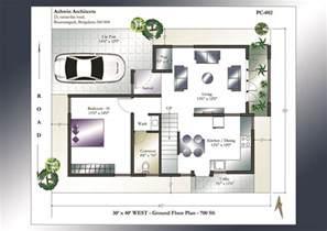 modern floor plan 30 x 40 house plans 30 x 40 west facing house plans