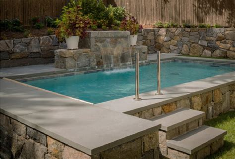 Bluestone Pool Coping Tiles Rebated Bullnose