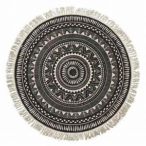 Tapis Rond Design : tapis rond design 6 id es de d coration int rieure french decor ~ Teatrodelosmanantiales.com Idées de Décoration