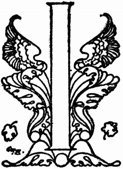Decorative Clipart Etc Letter Fancy Letters Clip