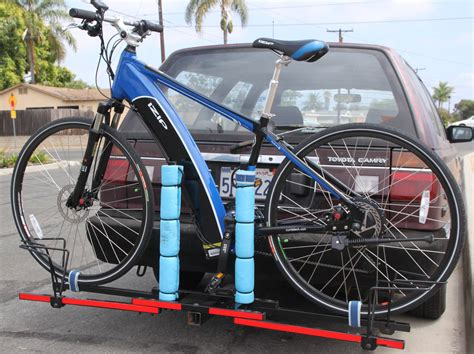 bike rack car protection how to protect bike frame mounted on the