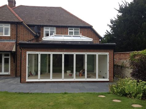 bi folding doors patio doors and lantern roof in thame