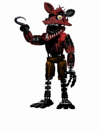 Foxy Fnaf Withered Fivenightsatfreddys