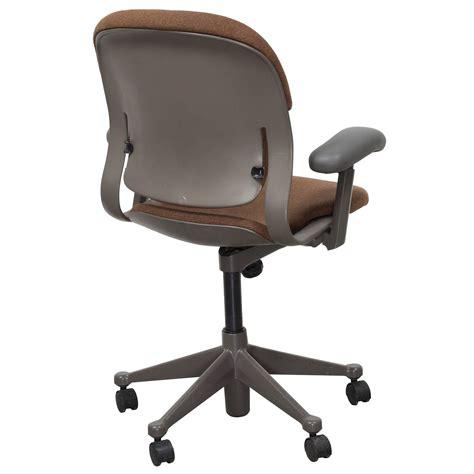 herman miller equa mid back used task chair rust