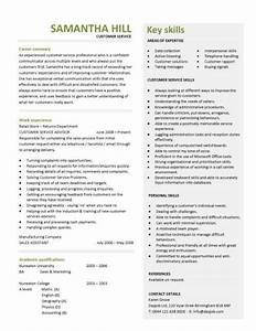 customer service resume templates skills customer With customer service resume