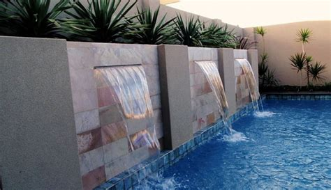 modern  classic water feature  home homesfeed