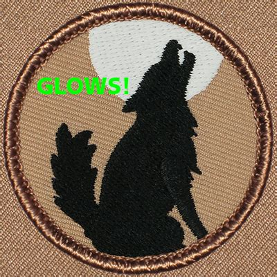 coyotewolf silhouette patrol patch abgl