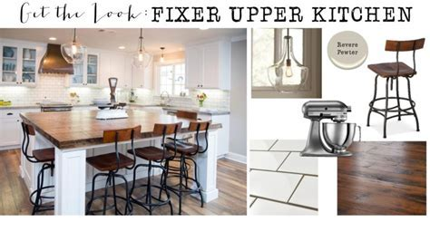 Get the Look: Fixer Upper Kitchen   House of Hargrove