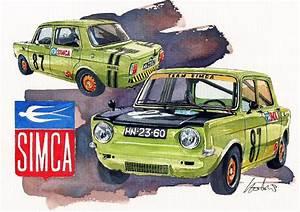 Voiture Rallye Occasion : simca 1000 rallye 2 yoshiharu miyakawa simca 1000 pinterest simca rallye et dessins de ~ Maxctalentgroup.com Avis de Voitures