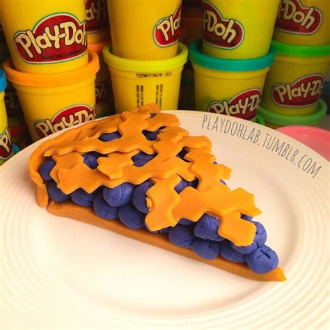 play doh food pi day playdoh food pie