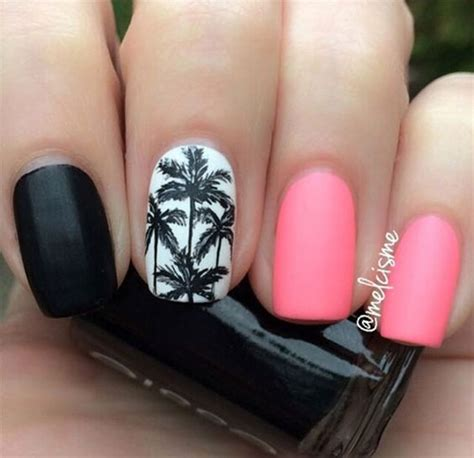 summer pink nail art designs ideas  fabulous