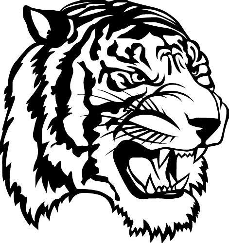 Kleurplaat Tijgerkop by Tiger Cat Car Cer Window Sticker Decals 2 Ebay