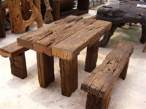 Rustic : Ho To Make Rustic Wood Furniture