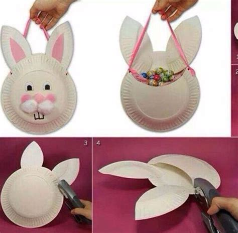 diy easter basket kindergarten easter crafts for 174 | 17cc9b1a7215a97a574f282f5b975fe3