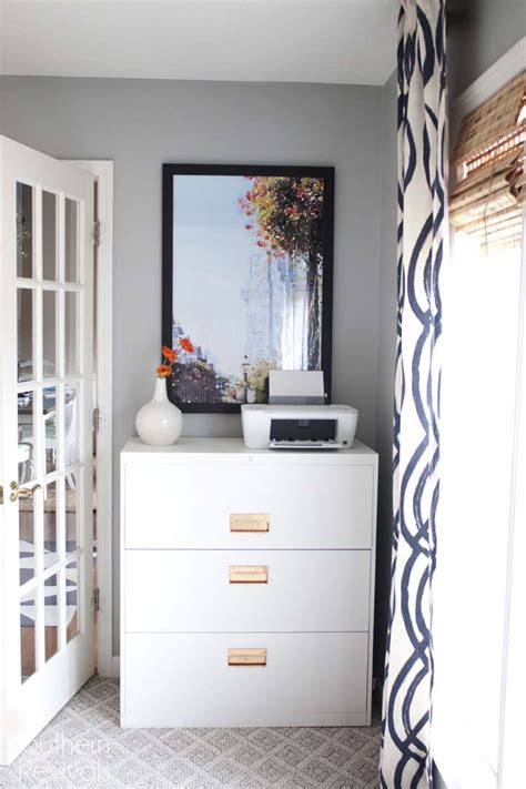 Office Makeover Reveal  Ikea Hack Builtin Billy