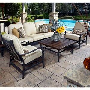Costco Meridian 5 Piece Patio Deep Seating Set Favorite