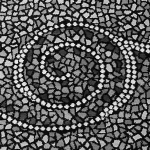Teppich Grau Silber : designer teppich kurzflor klassische ornamente mosaik stein optik grau silber ebay ~ Markanthonyermac.com Haus und Dekorationen