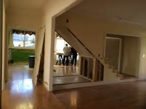 cape cod house design removing the wall of staircase