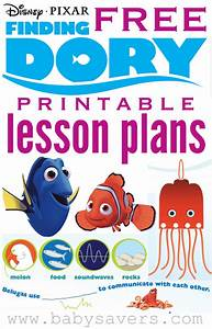 Finding Dory Lesson Plans For Teachers Or Parents