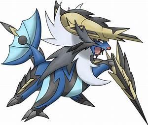 Pokémon #8503 Mega-Samurott Mega Artwork