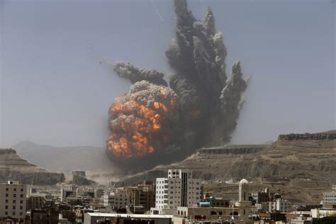 Yemen Un Official Says Saudiled Air Strikes Violate International Law