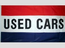 5' x 3' Used Cars Flag Second Hand Car For Sale Auto Motor