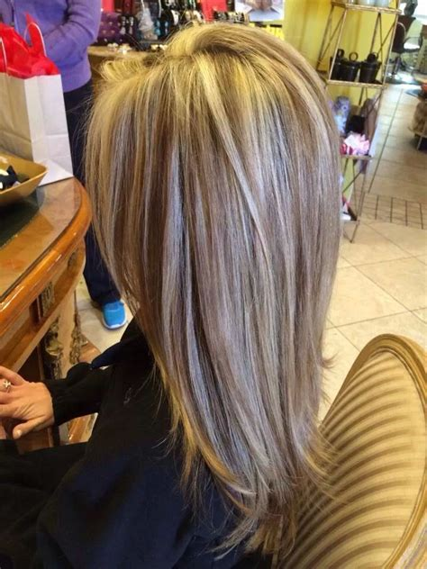 cool beautiful highlight lowlight haircut blowdry long layered haircuts   hair