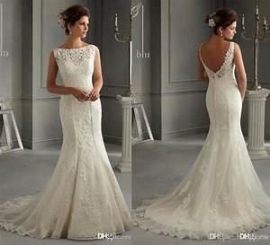 new arrival 2016 illusion bateau backless sheath wedding With wedding dresses sheath