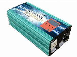5000w Lf Pure Sine Wave Power Inverter Dc12v  Ac110v  Power