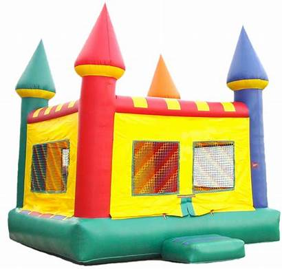 Bounce Castle Clipart Clip Inflatable Houses Jumpers
