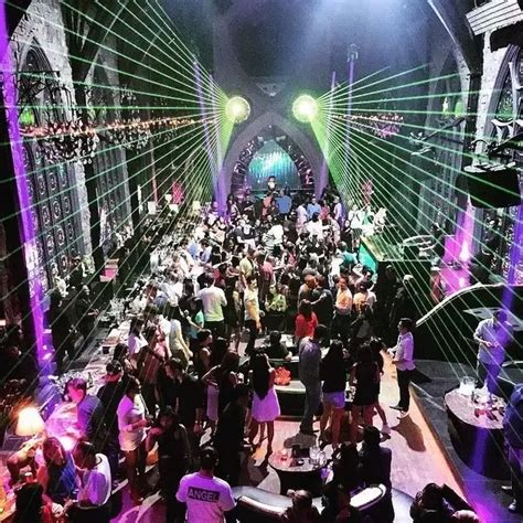 place  party  night  bali indonesia