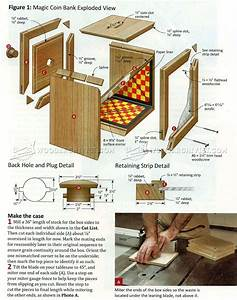 Wooden Coin Bank Plans • WoodArchivist