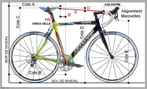 mesure cadre velo route r 233 glages aubord cyclo club