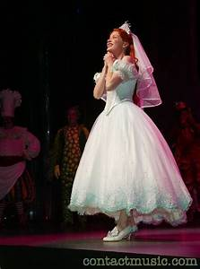 wedding dress 2 the little mermaid on broadway photo With little mermaid wedding dress
